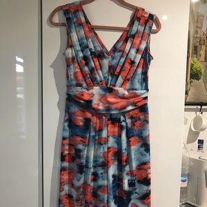 Simply Vera Vera Wang stretchy printed dress